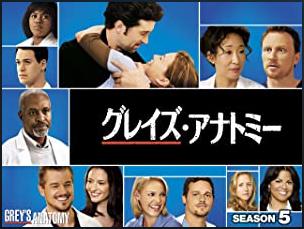 海外ドラマ|グレイズ・アナトミー シーズン5の動画を無料視聴できる配信サイト
