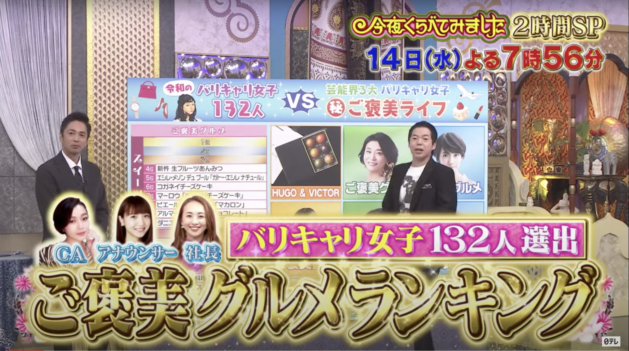 今夜くらべてみましたSP(徳井さん復帰)10月14日の無料動画や見逃し配信をフル視聴する方法!